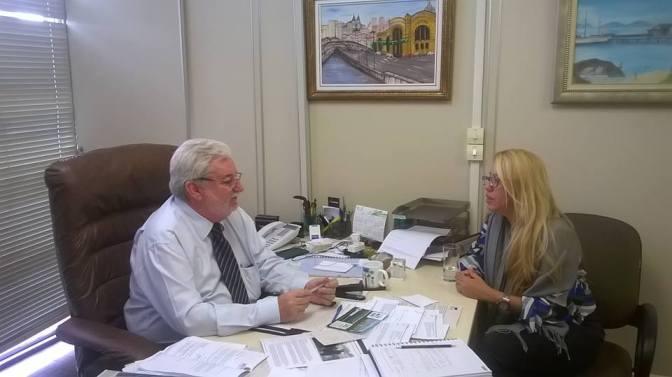 Vereador  Gilberto Natalini atende pedido do EVM para realização de evento humanitário na Câmara de SP