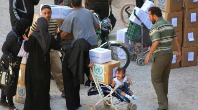 Cerca de 3 mil crianças vivem em campo de refugiados sob cerco sírio