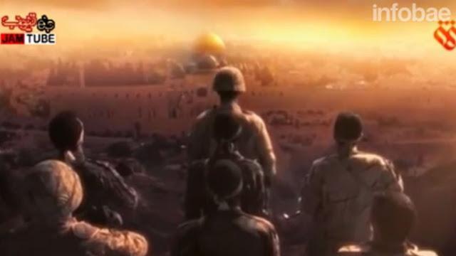 Irán difunde vídeo en el que Jerusalém es destruida por Hezbollah