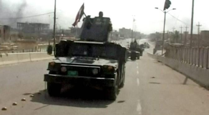 Iraque anuncia libertação total da cidade de Falujja