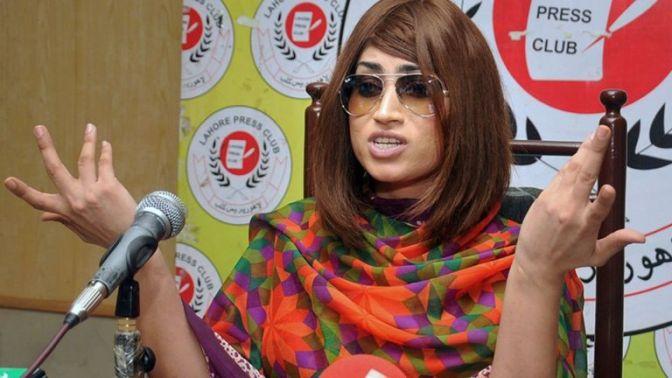 Webcelebridade paquistanesa é 'morta por irmão'