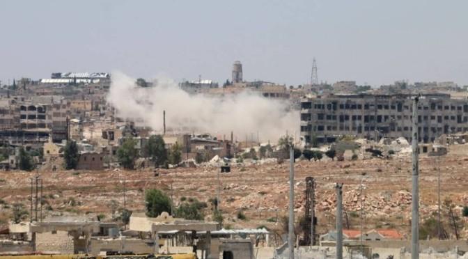 ONG denuncia uso de bomba de fragmentação por Rússia e Síria