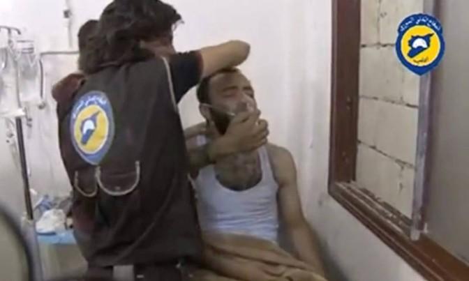 Equipes de resgate denunciam ataque com gás cloro na Síria