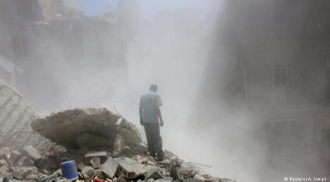 Suposto ataque com gás de cloro deixa mortos em Aleppo