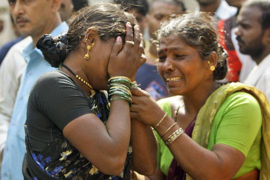 Cristãs indianas são agredidas pelos próprios vizinhos