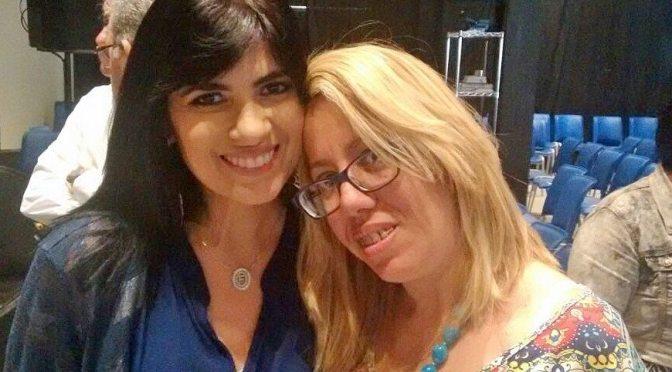 Trabalho da ONG Ecoando a Voz dos Mártires sensibiliza a cantora Fernanda Brum