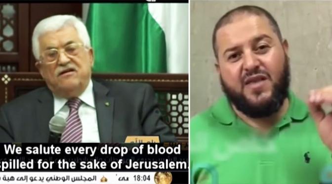 """Palestinos: """"Vocês Nos Enchem de Orgulho. Vocês Mataram Judeus!"""""""