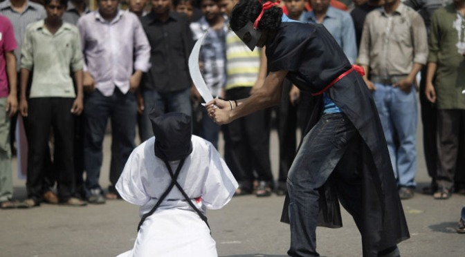 Arábia Saudita condena à decapitação um deficiente por ter participado de protesto pacífico