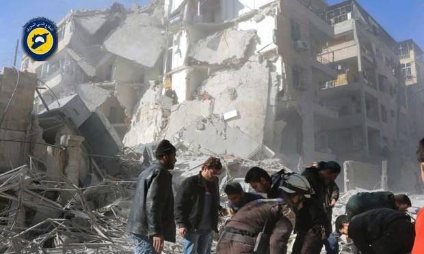 Todos os hospitais em Aleppo estão inoperantes após bombardeios
