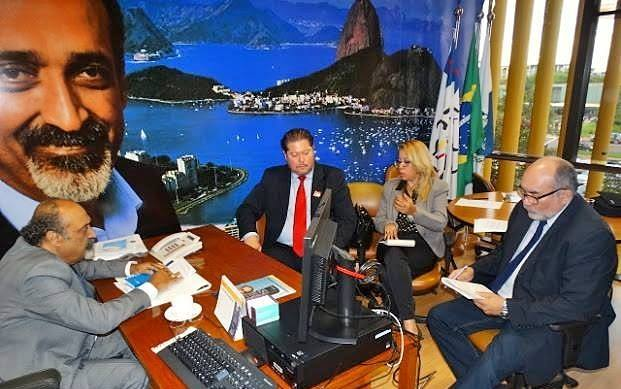 EVM discute com deputado Ezequiel Teixeira votos do Brasil contrários a Israel na ONU e genocídio de cristãos no Oriente Médio
