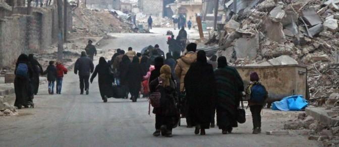 ONU: Forças sírias mataram 82 civis em suas casas em Aleppo