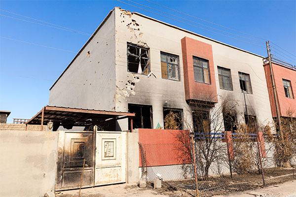 Casas de cristãos são queimadas