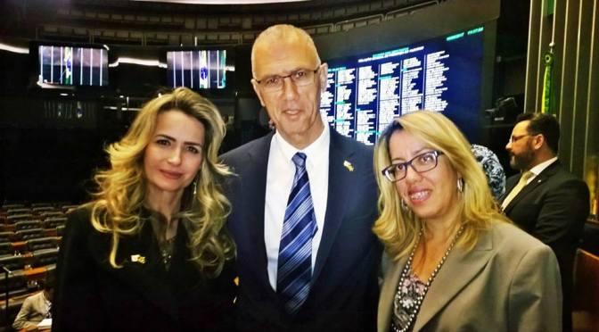 Presidente da ONG EVM prestigia Sessão Solene em Homenagem à Criação do Estado de Israel na Câmara  dos Deputados
