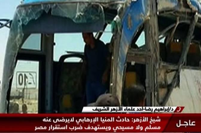 Ataque a ônibus de cristãos coptas no Egito deixa 26 mortos