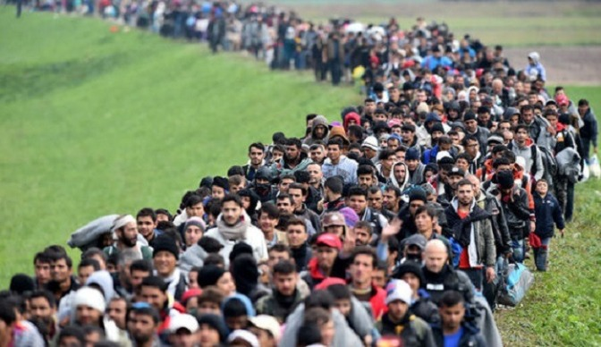 A Alemanha admite: 75% dos migrantes muçulmanos necessitarão de benefícios nos próximos anos