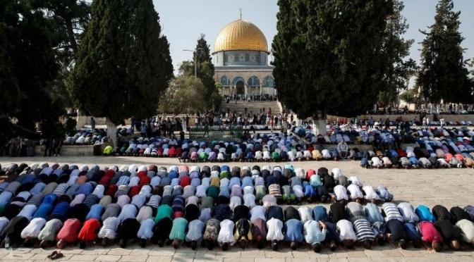 Israel proíbe homens com menos de 50 anos na Esplanada Das Mesquitas