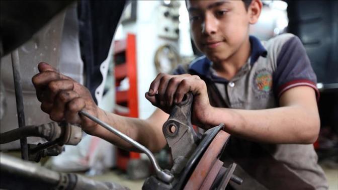 4,9% da população iraquiana é formada por trabalhadores infantis