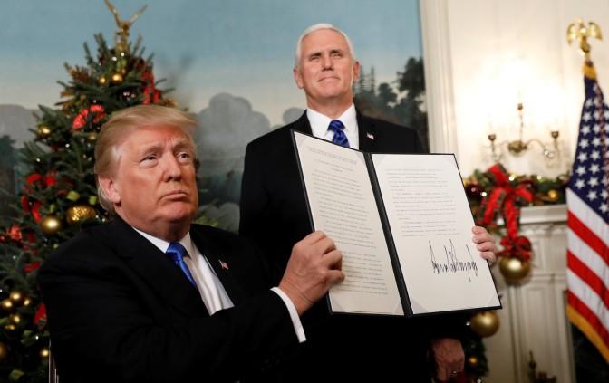 Os EUA reconhecem Jerusalém como capital de Israel: vem guerra por aí?