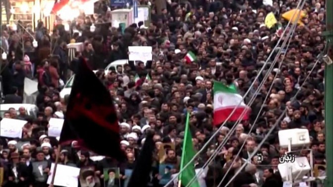 Já são pelo menos 20 mortos no quinto dia consecutivo de protestos no Irã