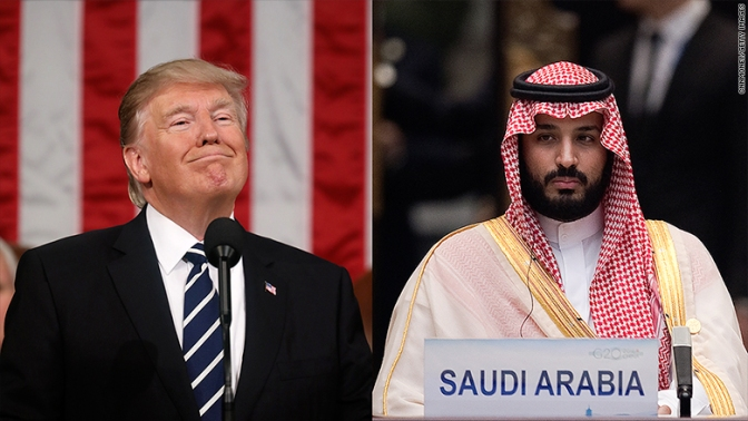 """Trump e o """"canto da serpente"""""""