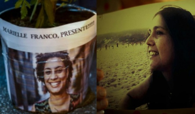 """Marielle vive"" e ""Patrícia Acioli morre"" nos anais do ativismo seletivo"