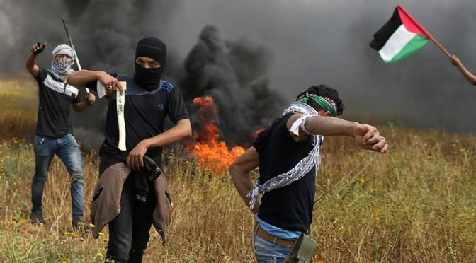 """Protestos palestinos: a elevação da """"Marcha do Terror"""""""