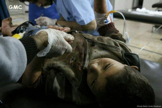 Explosivos mataram quase 1.000 crianças na Síria em 2017