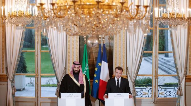 Príncipe herdeiro da Arábia Saudita não descarta participar de resposta militar na Síria