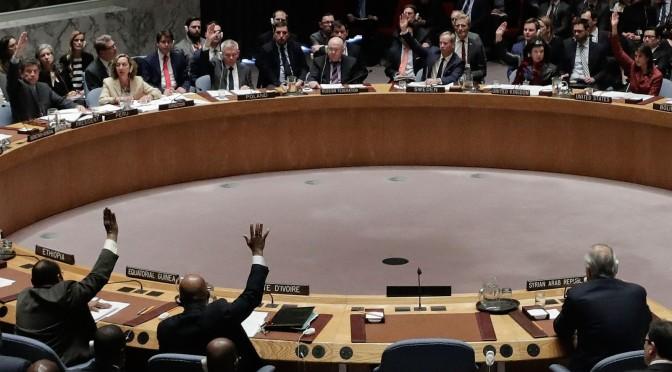 Rússia veta resolução dos EUA sobre a Síria
