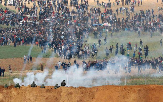 FDI divulgam imagens de terrorista armado tentando invadir Israel