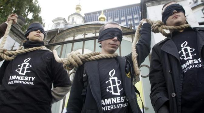 Anistia Internacional: Quase 1.000 prisioneiros executados em todo o mundo em 2017