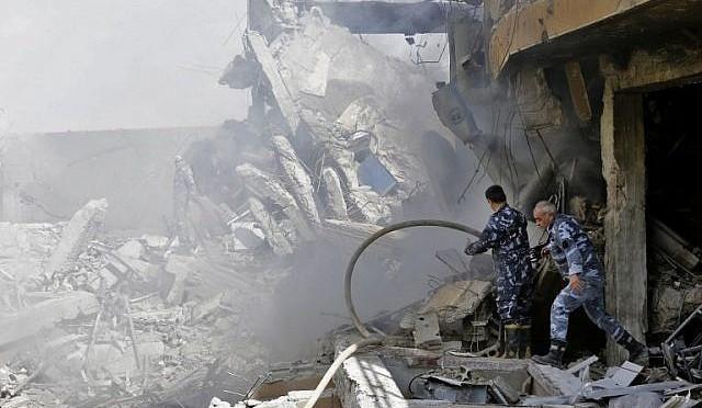 Relato de forte explosão em base iraniana na Síria