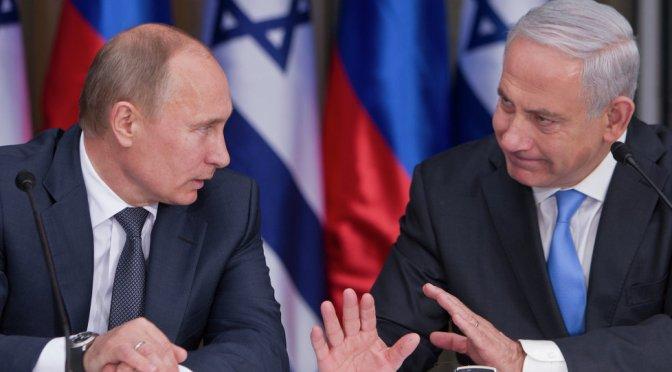 """Netanyahu à Putin: """"Nós não vamos permitir bases iranianas na Síria"""""""