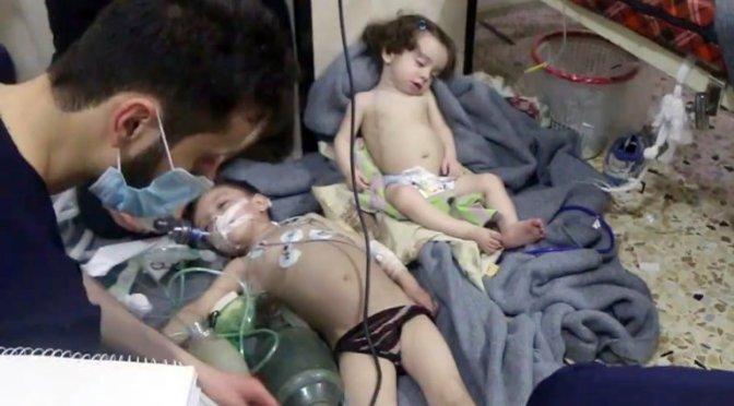 Número de civis mortos em ataque químico na Síria pode superar a 100
