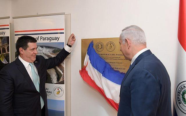 Paraguai se torna o 3º país a inaugurar embaixada em Jerusalém