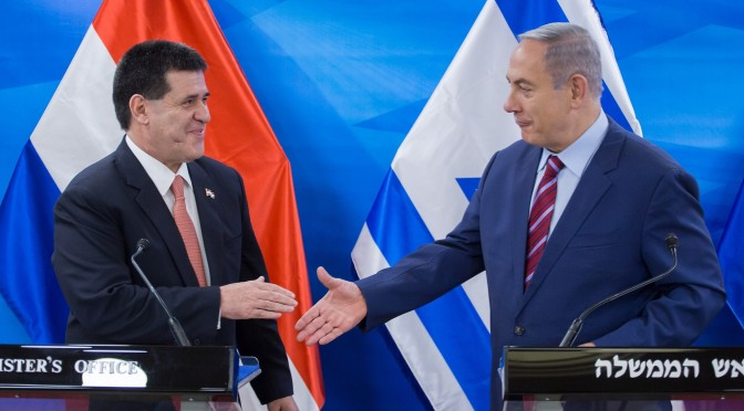 Paraguai vai abrir embaixada em Jerusalém na próxima terça-feira