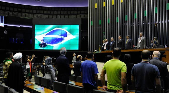 """As vozes do """"terror iraniano"""" no parlamento brasileiro"""
