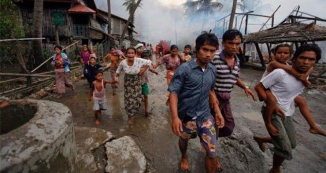 Exército de Mianmar destrói mais de 60 igrejas