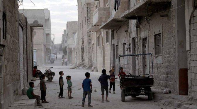 ONU: sete mil crianças sírias vitimadas pela guerra