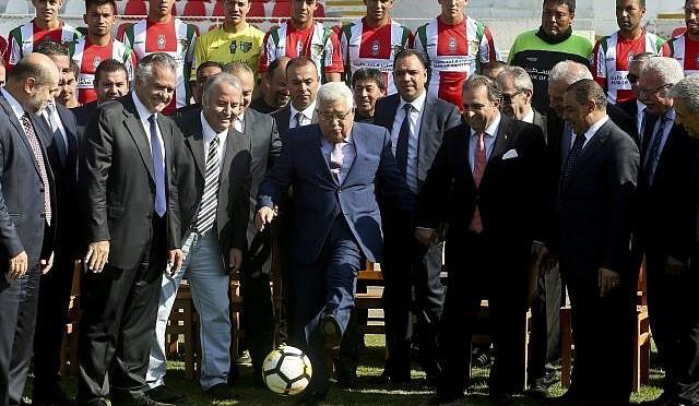 Abbas vai assistir o jogo do final da Copa do Mundo