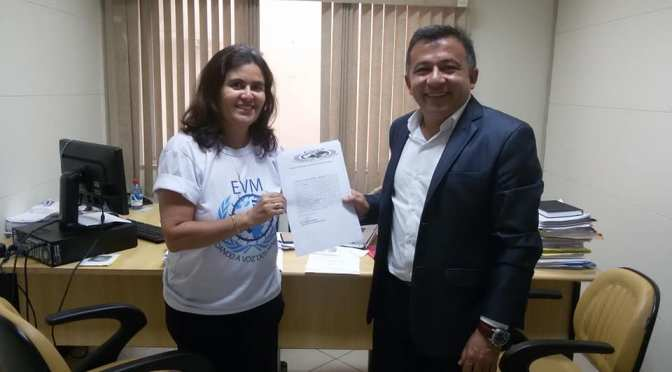 ONG EVM discute em reunião com Procurador do estado de Roraima apoio à população