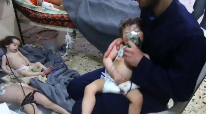 Assad usou armas químicas em três ataques durante o ano