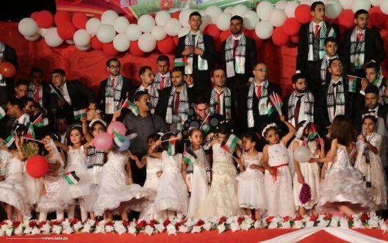 Gaza: O casamento em massa que a mídia internacional não vai noticiar