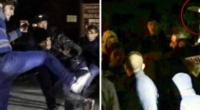 Milhares de imigrantes armados atacam a fronteira da Croácia para entrar na UE