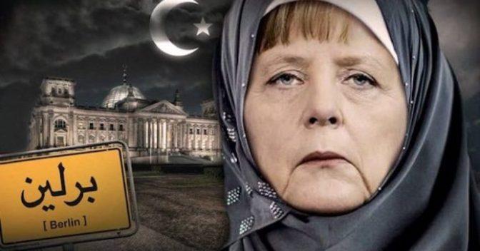 """""""Não é que a Alemanha convenceu parte da Europa a se submeter à """"sharia""""?"""