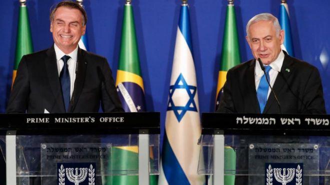 "Visita de Bolsonaro a Israel e a ""recompensa do crocodilo"""