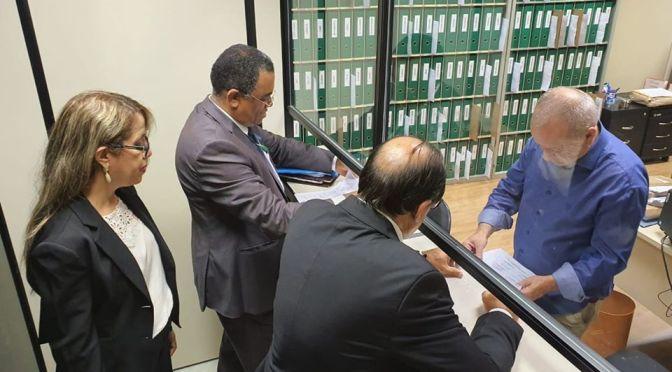 Comitiva de parlamentares pede audiência com ministro Ernesto Araújo em apoio ao cristão perseguido Faraz Pervaiz